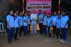 Kabaddi Girls Runner - Nandadeep Vidyalaya Malad